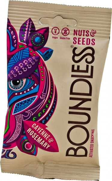 We Are Boundless Nuts & Seeds Cayenne & Rosemary