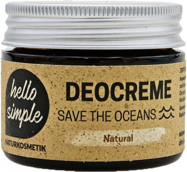 "Hello Simple Deocreme ""Save the Oceans"""