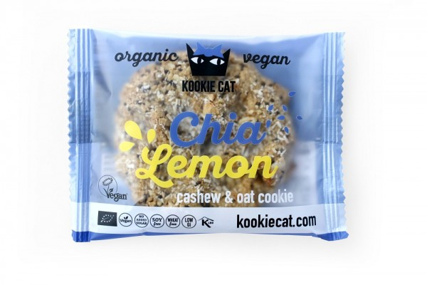 "KookieCat Bio Cookie ""Lemon & Chia"""