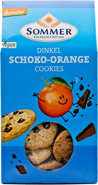 Sommer BIO Schoko-Orange Cookies