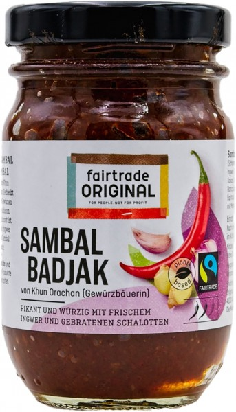 Fairtrade Original Sambal Badjak