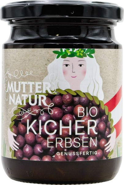 Mutter Natur BIO Kichererbsen im Glas