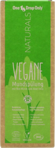 One Drop Only Vegane Mundspülung