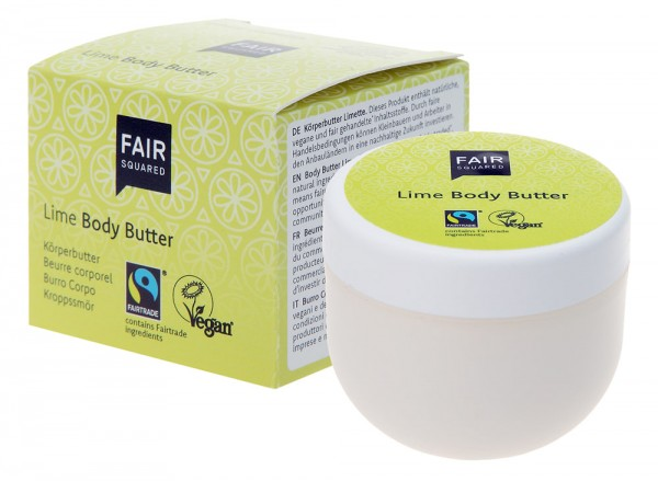 Fair Squared Body Butter Lime
