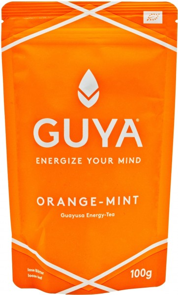 Guya BIO Orange-Mint Guayusa Energy-Tea