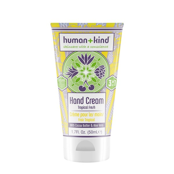 human+kind Handcreme tropical fresh