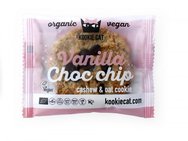 "KookieCat Bio Cookie ""Vanilla & Chocolate Chip"""